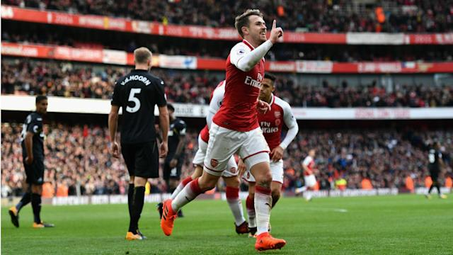Arsenal moved into the top four as they came from behind for the second Premier League game running to claim a 2-1 win over Swansea City.
