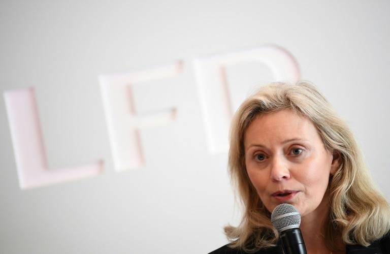 Nathalie Boy de la Tour présidente de la Ligue de football professionnelle à Paris le 11 mars 2020