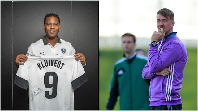 Patrick Kluivert and Guti were surprisingly linked with St Mirren's vacancy but the high-profile former players are not in contention.