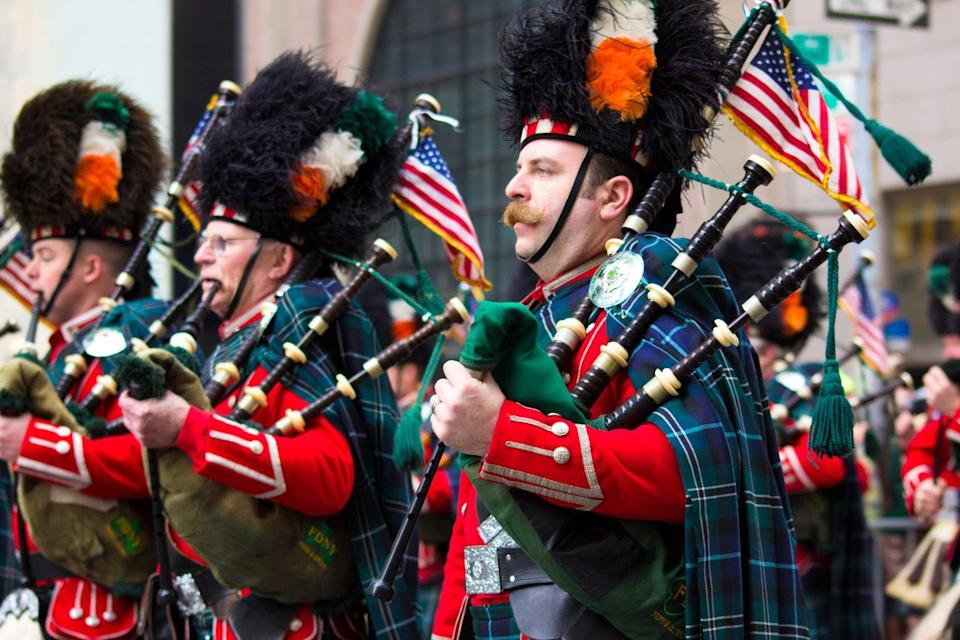 """<p>Enrich your lives by exposing yourself to the Irish culture through music. Listen to classics or modern hits, and if you become stuck, <a href=""""https://open.spotify.com/user/spotify/playlist/37i9dQZF1DWSCaDvxADWZT"""" rel=""""nofollow noopener"""" target=""""_blank"""" data-ylk=""""slk:Spotify"""" class=""""link rapid-noclick-resp"""">Spotify</a> has you covered. </p><p><strong>RELATED: </strong><a href=""""https://www.goodhousekeeping.com/holidays/a26216594/best-irish-songs-st-patricks-day/"""" rel=""""nofollow noopener"""" target=""""_blank"""" data-ylk=""""slk:28 Best Irish Songs to Add to Your St. Patrick's Day Playlist"""" class=""""link rapid-noclick-resp"""">28 Best Irish Songs to Add to Your St. Patrick's Day Playlist</a></p>"""