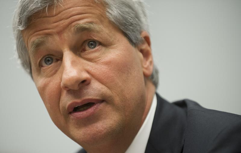 JPMorgan Chase CEO Jamie Dimon testifies during a US House Financial Services Committee hearing on Capitol Hill in Washington, DC, June 19, 2012 (AFP Photo/Saul Loeb)