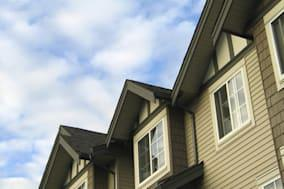Looking up at some newly built housing. Thanks for checking it out!