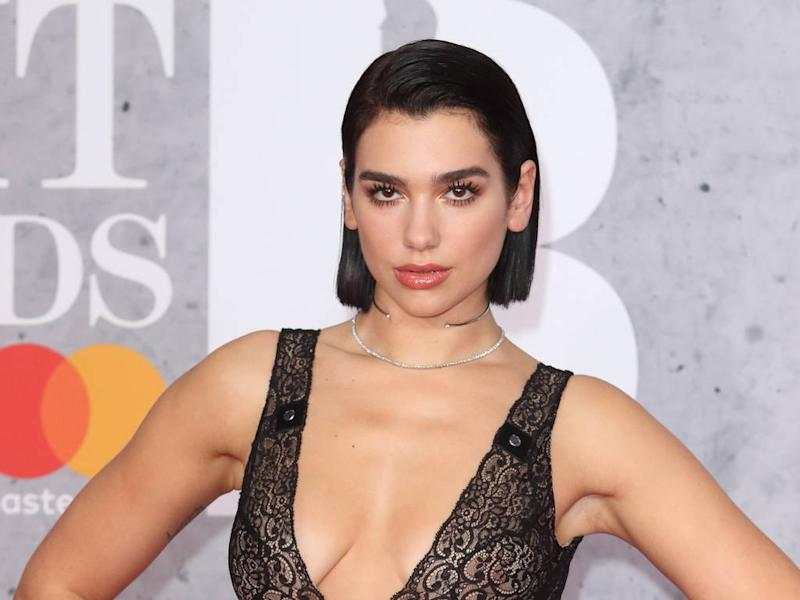 Dua Lipa loves manicures after years of biting her nails