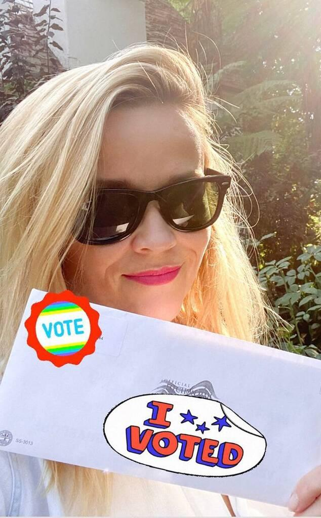 Reese Witherspoon, stars voting 2020