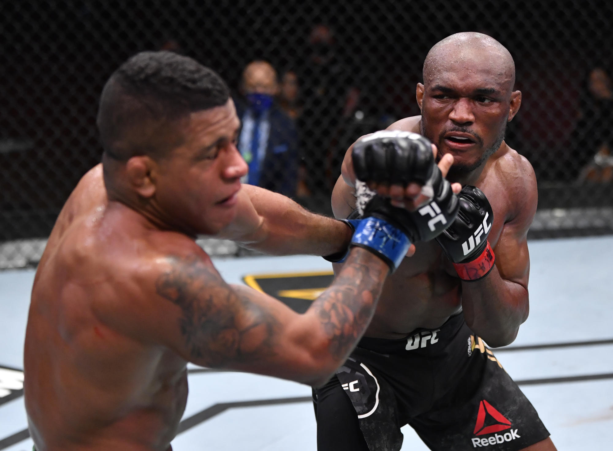 UFC 258: Kamaru Usman nearing St-Pierre level of dominance