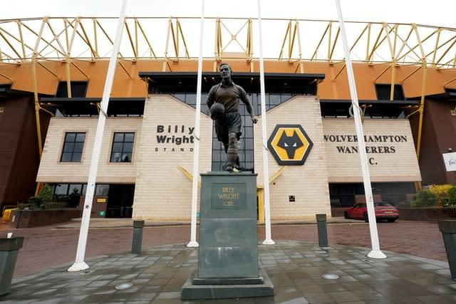 Wolves hero Jimmy Mullen remained a one-club man (Morgan Harlow/PA)