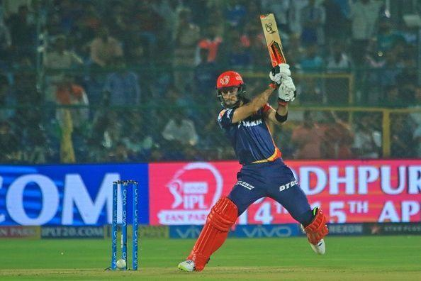 Maxwell played for Delhi Daredevils in IPL 2018