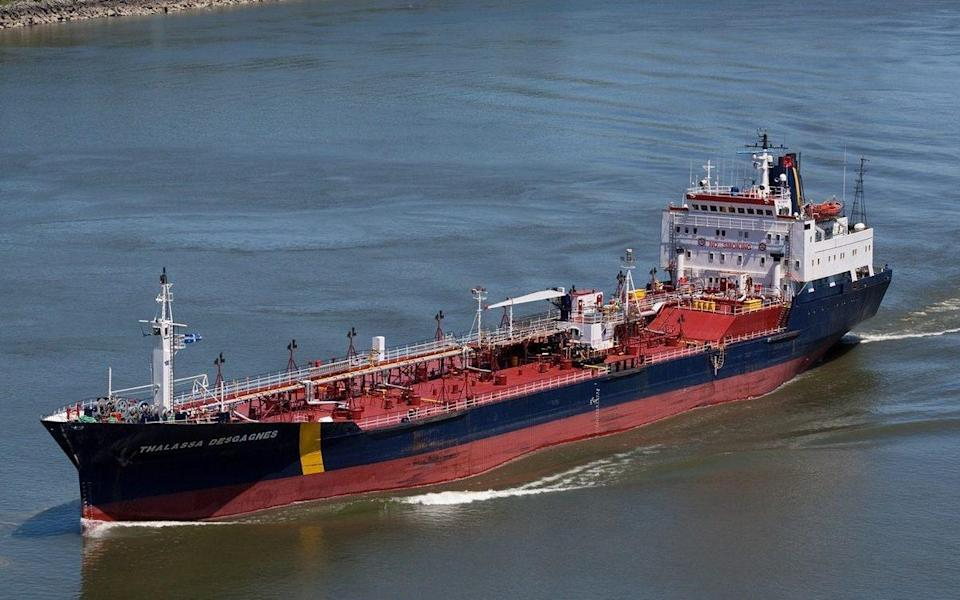 The Asphalt Princess, formerly called Thalassa Desgagnes, is believed to be the ship involved in the hijacking incident