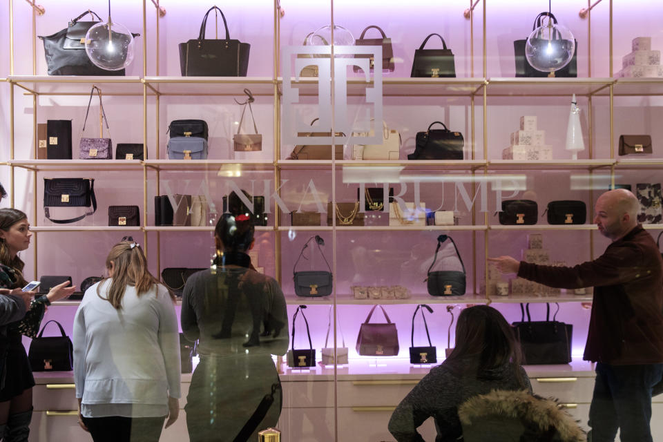 Ivanka Trump's fashion brand opened a new retail store in the lobby of Trump Tower in December. (Photo by Drew Angerer/Getty Images)