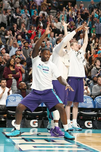 At the very least, Lance Stephenson ups the bench celebration quotient. (Getty Images)