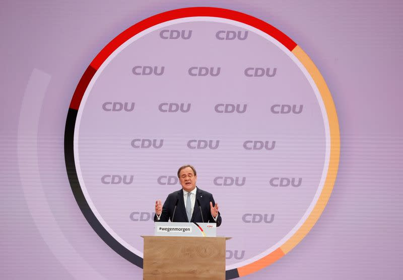 Christian Democratic Union (CDU) party's 33rd congress in Berlin