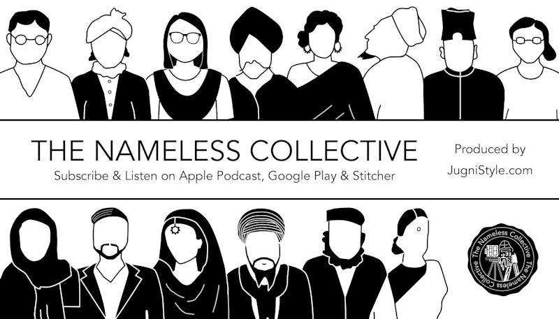 "Manjot Bains produces ""The Nameless Collective,"" a podcast about South Asian Canadian history. (Photo: Manjot Bains)"