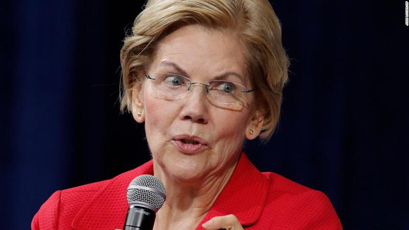 Elizabeth Warren says she won't do big dollar fundraisers if she wins the nomination