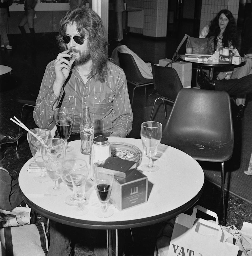 Clapton in the 1970s - Credit: Evening Standard/Hulton Archive/Getty Images