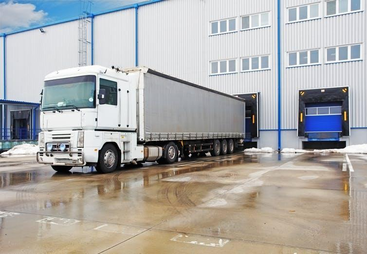 """<span class=""""caption"""">Stocks are kept offsite in warehouses.</span> <span class=""""attribution""""><a class=""""link rapid-noclick-resp"""" href=""""https://www.shutterstock.com/image-photo/unloading-big-container-trucks-warehouse-building-138179042"""" rel=""""nofollow noopener"""" target=""""_blank"""" data-ylk=""""slk:Shutterstock"""">Shutterstock</a></span>"""