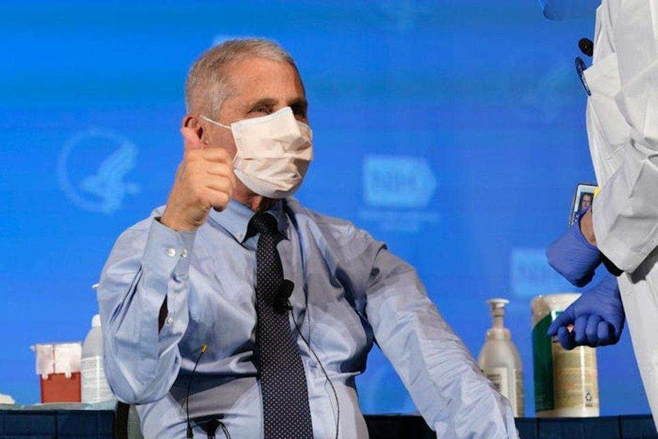 Anthony Fauci, US-Immunologe und Direktor des National Institute of Allergy and Infectious Diseases.