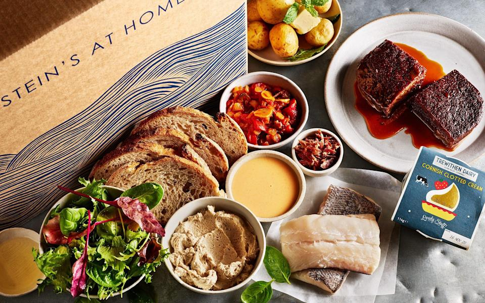 Rick Stein home delivery box - Luxury Cottages