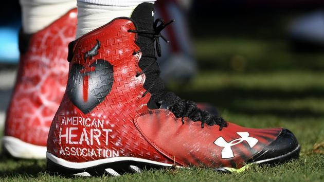 National Football League  lightening up on guidelines regarding players' footwear