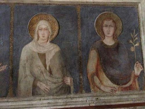 14th century fresco repair botched see for yourself basilica of st francis fresco before restoration its darker but is it totally different image courtesy of la repubblica solutioingenieria Gallery