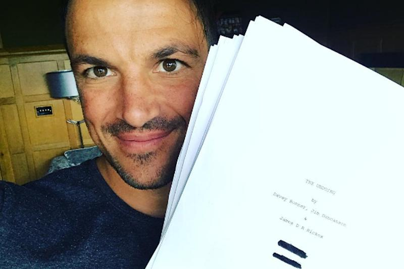 Big time: Peter Andre is heading for Hollywood: Instagram/ Peter Andre
