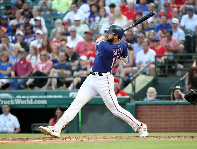 Texas Rangers designated hitter Joey Gallo