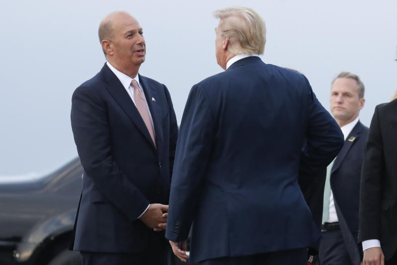 Polo ponies and private planes: Trump impeachment fight deepens a rift among ambassadors