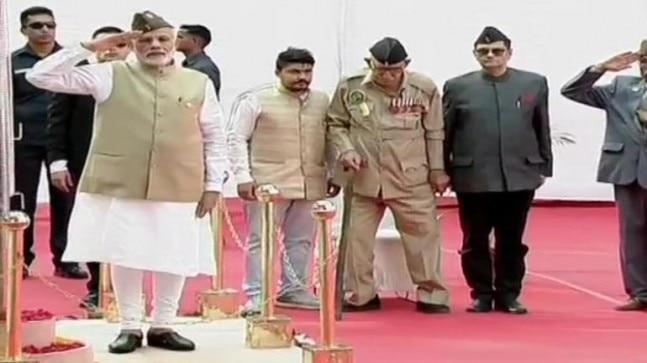 "On Wednesday, Modi had announced his plans to hoist the Tricolour at Red Fort to mark the 75th anniversary of Azad Hind government saying his government celebrates the contributions of many great personalities who were ""neglected"" by the Congress."
