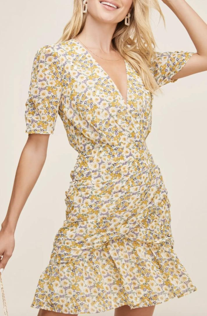 <p>This <span>ASTR the Label Lucky Me Minidress</span> ($71, originally $118) is a bright and lovely option for spring.</p>