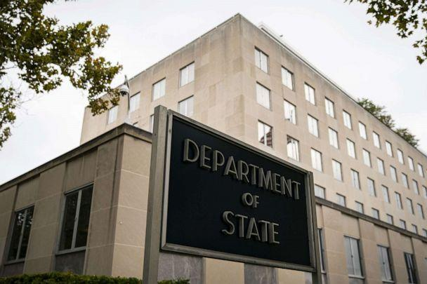 PHOTO: U.S. State Department headquarters in Washington, D.C., Oct. 3, 2019. (Bloomberg via Getty Images)