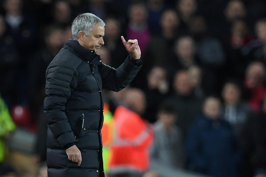 Manchester United manager Jose Mourinho has made an unsteady start to life at Old Trafford, with three successive defeats in mid-September (AFP Photo/Paul Ellis)