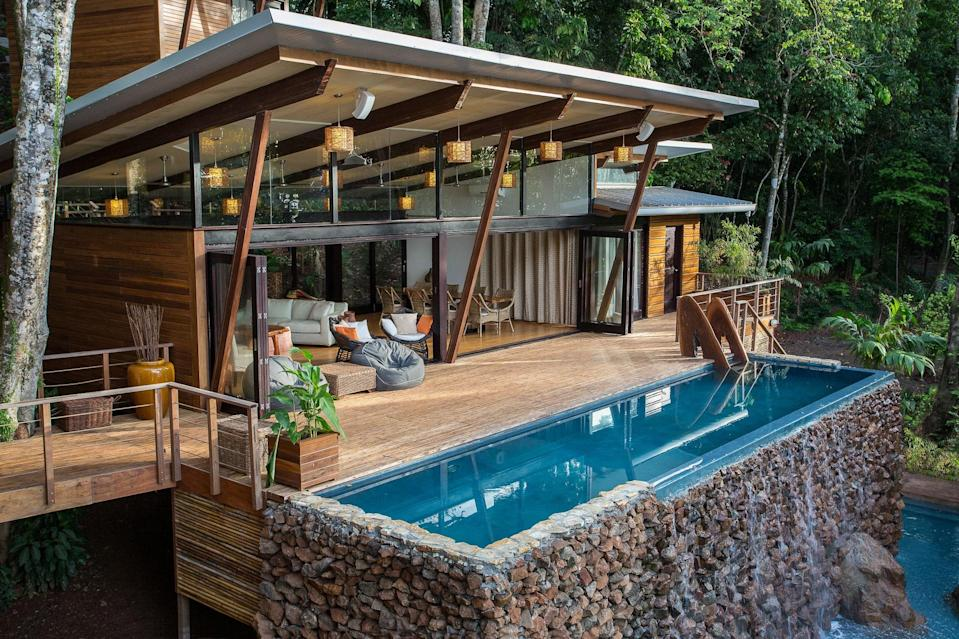"<p>Hop a domestic flight from Panama City to the remote 400-acre resort of <a href=""https://cna.st/affiliate-link/UeYxRXY6kTFdeTLeao77FPVB5a4hhDJwjTRZCGGAoJAb1xRBusJTPQGSQ7s4dP7zJTELHkdZ72c14Zt?cid=60887d41211142d4f9886bdb"" rel=""nofollow noopener"" target=""_blank"" data-ylk=""slk:Isla Palenque"" class=""link rapid-noclick-resp"">Isla Palenque</a>—named ""sanctuary island"" by pre-Colombian indigenous tribes. The peninsular getaway in the Pacific Gulf of Chiriqui is known for its coral reefs, calm beaches, and summertime humpback-whale migrations. Nine standalone villas and seven surrounding beaches on Isla Palenque channel a luxurious castaway experience complete with private infinity pools, locally sourced meals and beverages (like fresh smoothies and local coffee), and an outdoor hammock lounge. Activities like jungle hikes, snorkeling, whale watching, and paddle boarding will mix things up in between all that relaxation, and help keep you disconnected despite the resort's readily available Wi-Fi.</p> <p><strong>Book now:</strong> <a href=""https://cna.st/affiliate-link/AqefbiEiZikWuEr3BLLgebfLur6Wukh8cJv3TcYYL5djrCwmxEhFPg95rQ4H4EmUxTfpBXkCugD7rs9FZC7U7LeRBGntEGh5wE3gLkcHoFzjiWEEvG2MMzypX5E9Zhyrs6LDDTy5cVZd7Z45LpHuoWbKj?cid=60887d41211142d4f9886bdb"" rel=""nofollow noopener"" target=""_blank"" data-ylk=""slk:expedia.com"" class=""link rapid-noclick-resp"">expedia.com</a></p>"