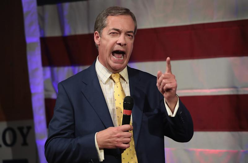 <strong>Nigel Farage claimed police were 'clearly' treating the incident as terror on Fox News </strong>