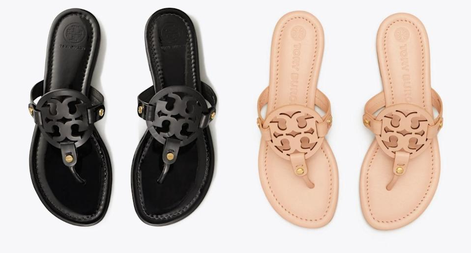 Tory Burch's Miller Sandals are a Nordstrom bestseller (Image via Tory Burch)