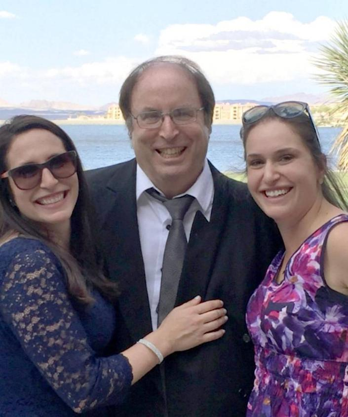 Michael Rosenberg, shown with daughters Dara Rosenberg Smith and Rachel Rosenberg O'Connor, is running in the race to represent District 7 on the Miami-Dade County Commission.