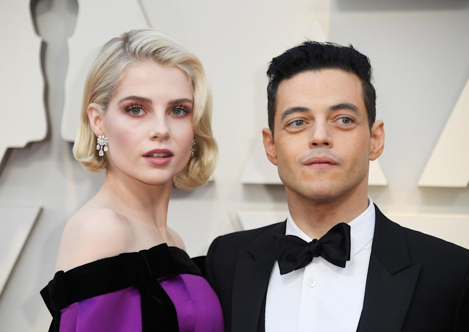 "When Rami Malek won the Academy Award for Best Actor for his role in <em>Bohemian Rhapsody</em> in 2019, he made a special callout to his costar and real-life love. ""Lucy Boynton, you're the heart of this film,"" he said. ""You are beyond immensely talented. You have capture my heart. Thank you so much."""
