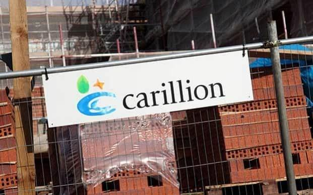 Carillion shares tanked last week after it warned it would breach its banking covenants