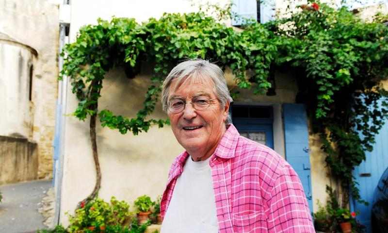 Peter Mayle in Provence, where he wrote several books about the Britons living in the region.