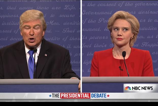 Kate McKinnon and Alec Baldwin Break Character to Urge Viewers to Vote