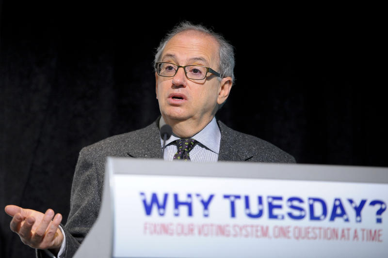 """Norman J. Ornstein at the """"Creating the Voting Rights Act of 2012"""" panel discussion at the Newseum in 2011. (Photo: Leigh Vogel/WireImage/Getty Images)"""