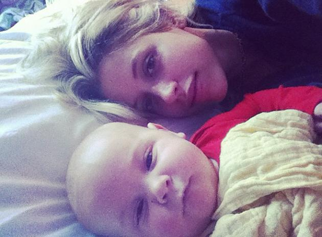 "Celebrity photos: Peaches Geldof spent time this week hitting back at the press for portraying her as a bad mother after her pram fell over. She tweeted this gorgeous photo of her and her baby, alongside the caption: ""Mummy and grubby."""