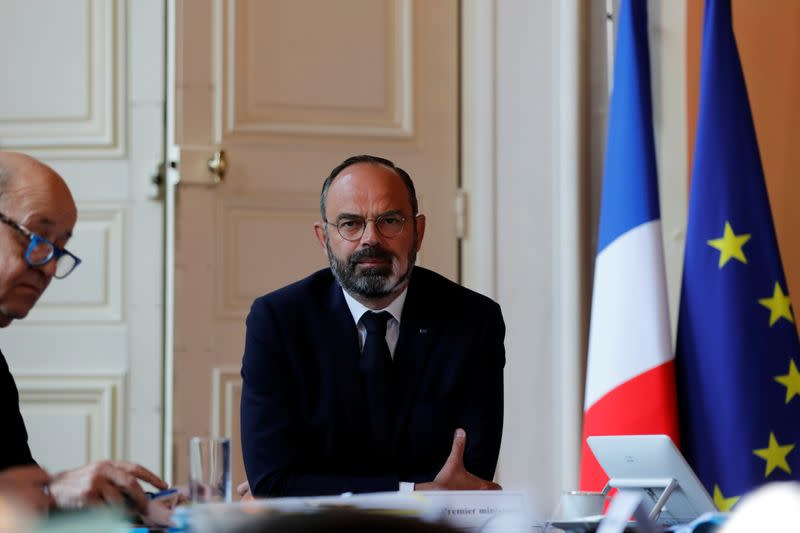 French PM Philippe attends an Inter-ministerial Committee on Tourism in Paris