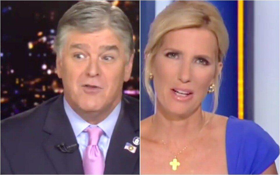 Ingraham Trolls Hannity On Live TV: 'Is That The White House Speaking, Or You?'
