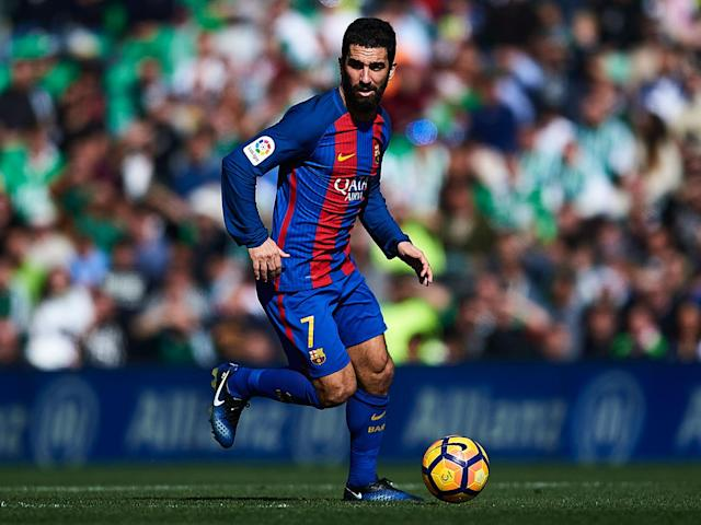 Arda Turan wants to remain with Barcelona despite enduring a frustrating time at the Nou Camp: Getty