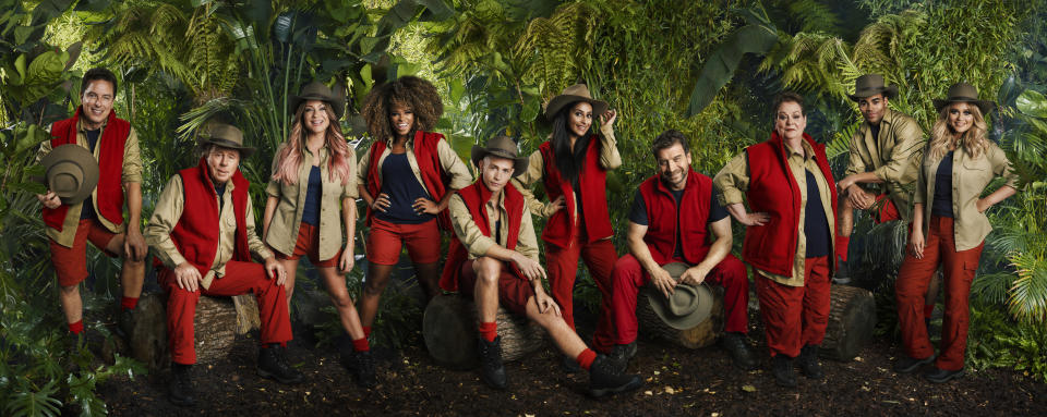 This year's 'I'm A Celebrity… Get Me Out Of Here!' (Credit: ITV)