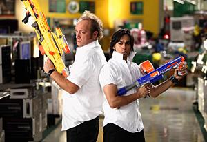 Chuck, Scott Krinsky and Vik Sahay | Photo Credits: Justin Lubin/NBC