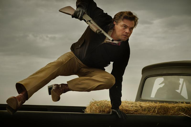 DiCaprio in Once Upon A Time In Hollywood (Credit: Sony)