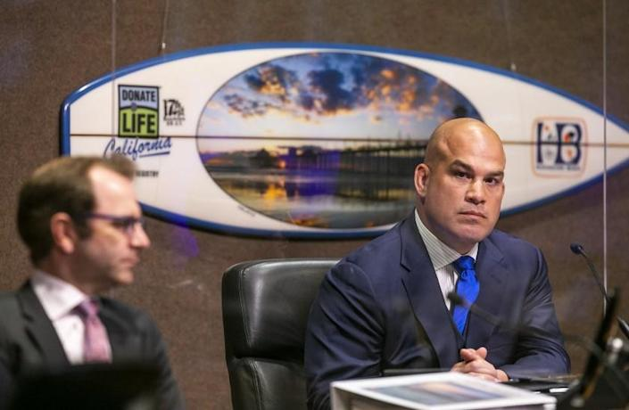 Mayor Pro-Tem Tito Ortiz resigned from the City Council on Tuesday, June 1.