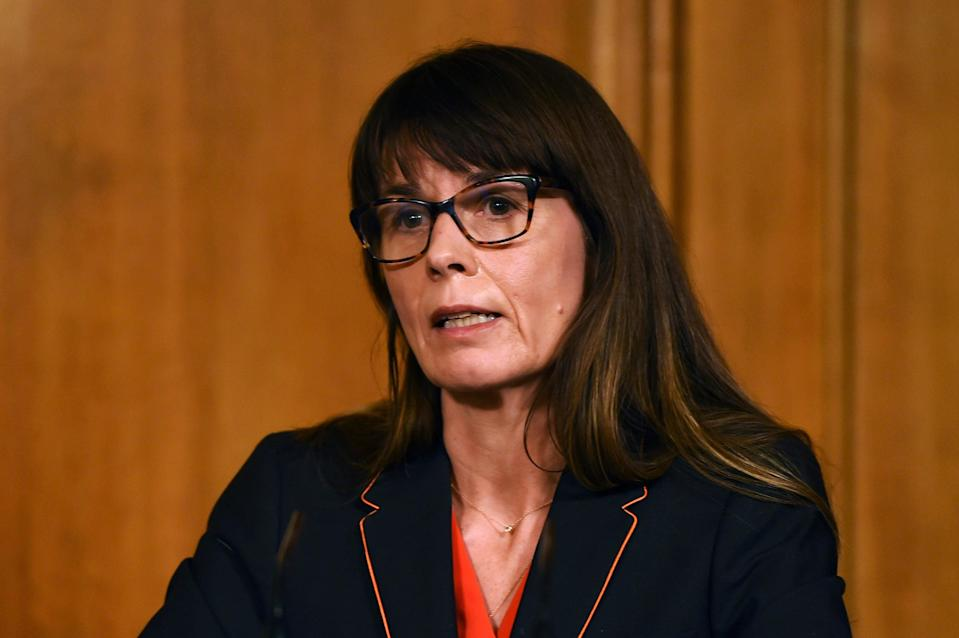<p>NHS Test and Trace chief Dr Susan Hopkins</p> (Getty Images)