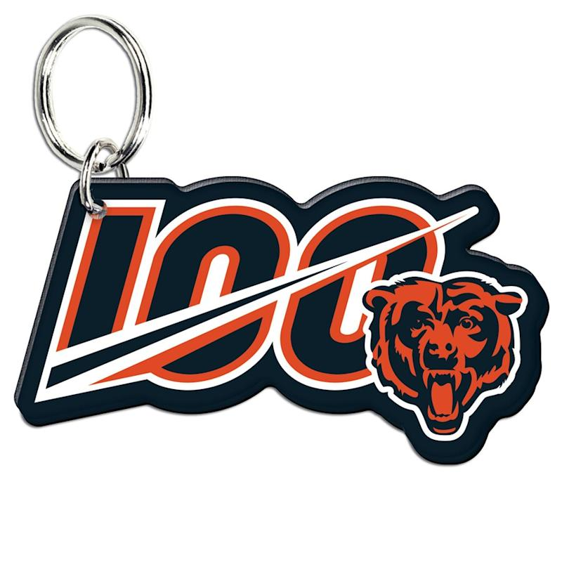 Chicago Bears 100th Season Key Ring