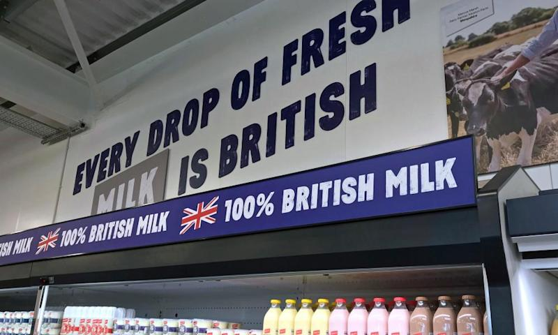 100% British milk at Jack's